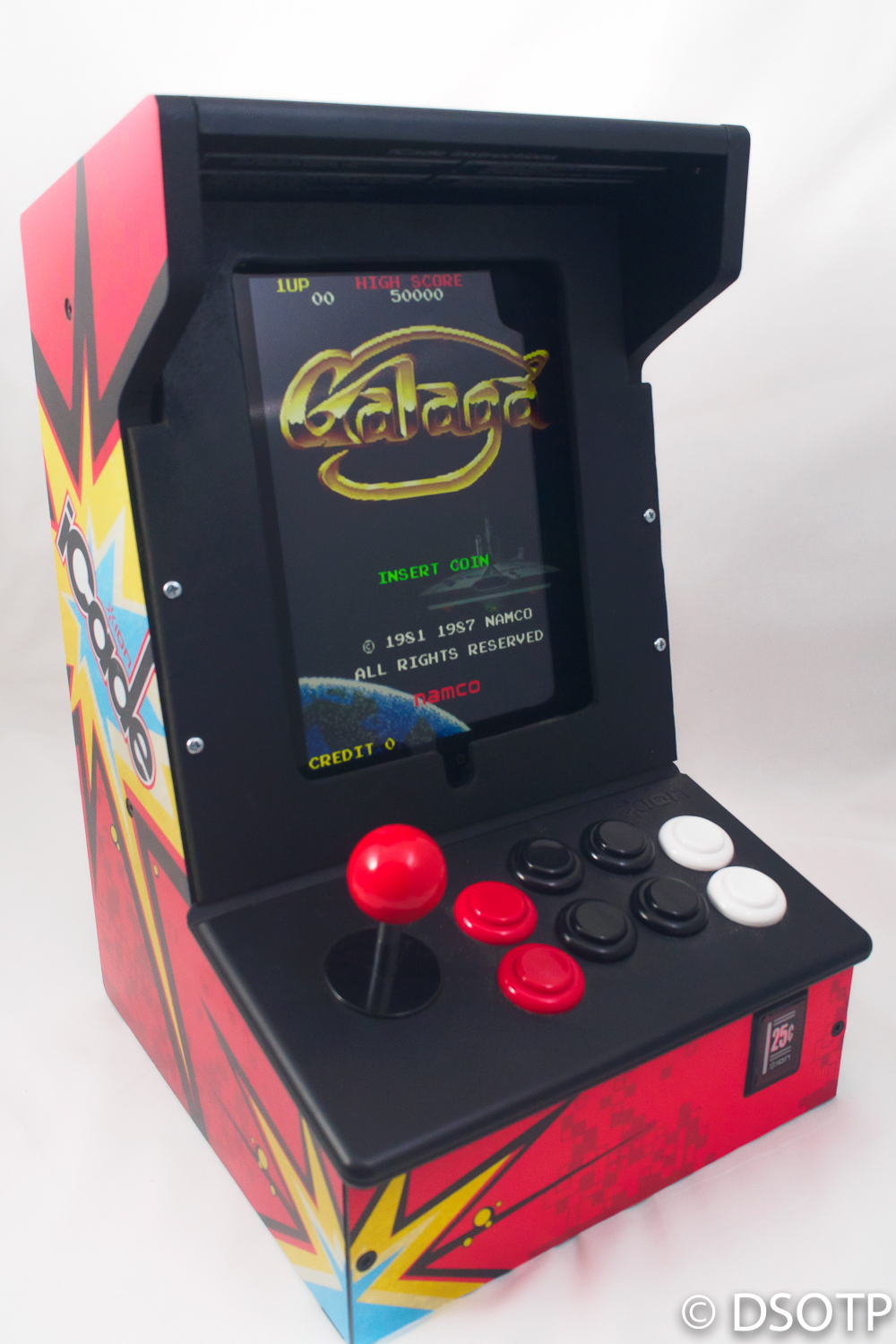 ...complete with Galaga